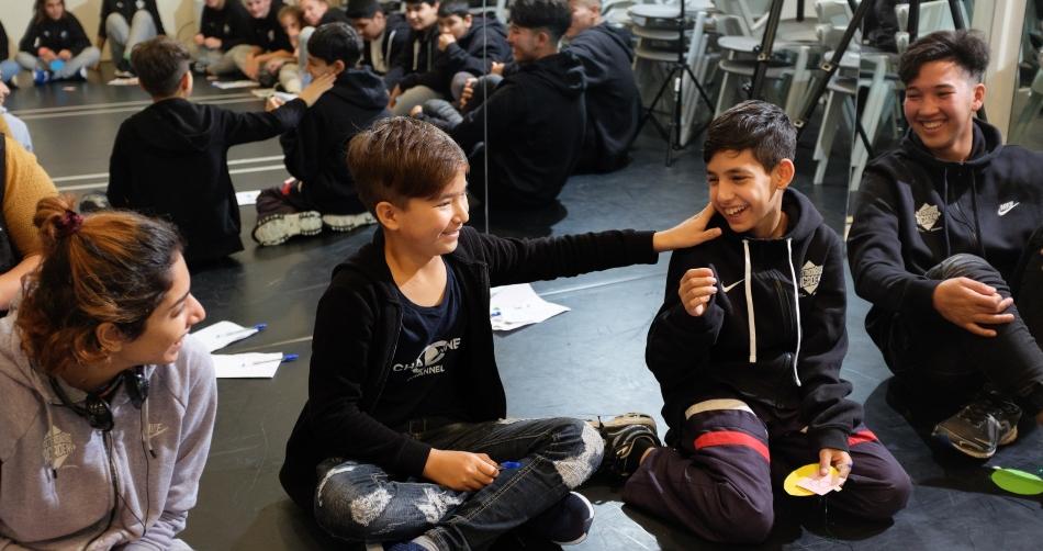 Έναρξη εργαστηρίων Anti-Bullying και έμπνευσης  από την ΑntetokounΒros Academy (pics & Vid)